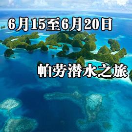 6月15至6月20日帕劳潜水之旅